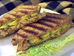 grilled tuna and avocado sandwich Recipe