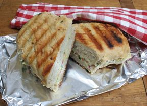 grilled tuna panini Recipe
