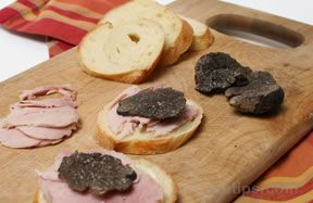 Ham and Truffle Baguette