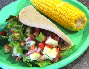 Marinated Grilled Chicken Pitas Recipe