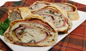Stromboli Sandwich for Meat Lovers Recipe