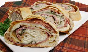 Stromboli Sandwich for Meat Lovers