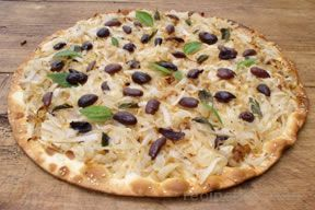 Onion Flatbread Pizza Recipe