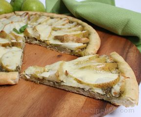 Pear and Provolone Pizza