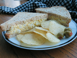 simple egg salad sandwiches Recipe