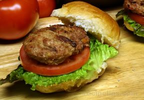 Garden Turkey Burgers Recipe