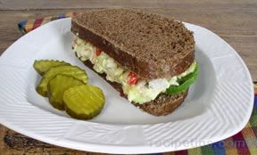 Turkey and Egg Salad Sandwiches
