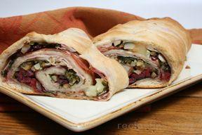 Turkey Stromboli