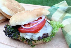 Grilled White Cheddar Burgers