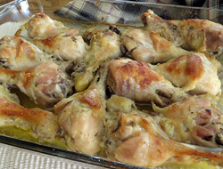 baked chicken legs Recipe
