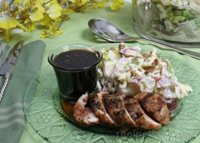 Balsamic Glazed Grilled Chicken Recipe