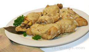 Chicken in Garlic Sauce Recipe