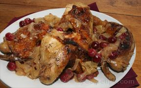 Chicken with Gooseberries