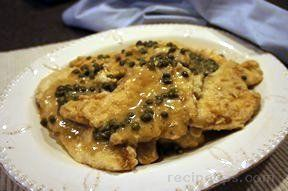 Chicken Piccata with Lemon Recipe