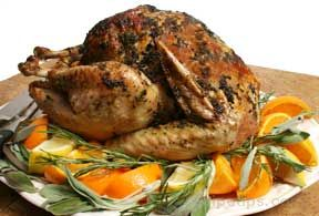 Citrus Turkey with Herbs Recipe