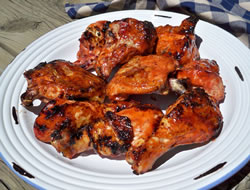 country barbecue basted chicken Recipe