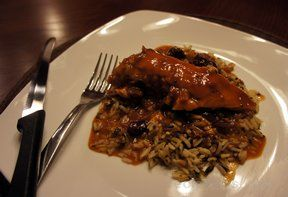 Cranberry Sauced Chicken
