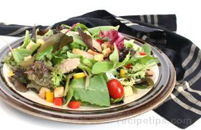 Duck on Mixed Greens Recipe