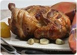 Garlic Lemon-Pepper Rotisserie Chicken Recipe