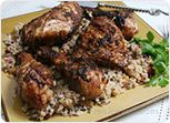 Spiced Grilled Chicken with Basmati Rice Recipe