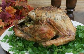 Garlic and Herb Roasted Turkey