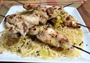 Grilled Chicken Spiedini