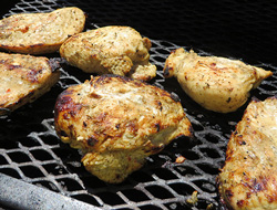 Grilled Chicken the Easy Way