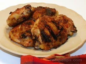 Grilled Chicken Thighs Recipe