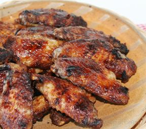 Grilled Garlic Chicken Wings Recipe