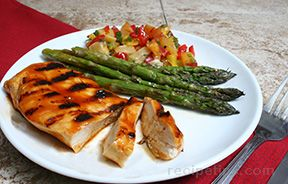 Grilled Honey Barbecue ChickennbspRecipe