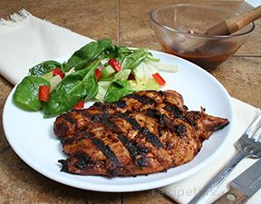 Grilled Mexican Barbecue Chicken