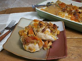 apricot and golden raisin chicken Recipe