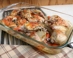 Oven Baked Chicken and Vegetables