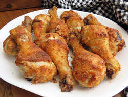 Oven Fried Drumsticks