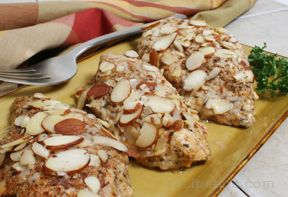 Parmesan Almond Chicken Recipe