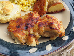 Parmesan Coated Baked Chicken