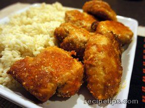 Sesame Chicken Thighs