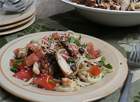 Spicy Chicken with Linguine Recipe