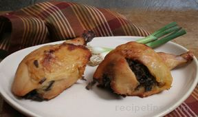 Wild Rice Cheese or Macadamia Stuffed Chicken Drumsticks