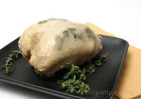 truffled breast of chicken Recipe