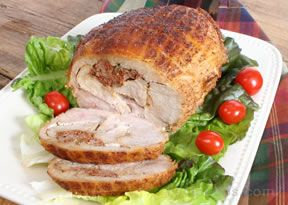 Turducken Oven Roasted