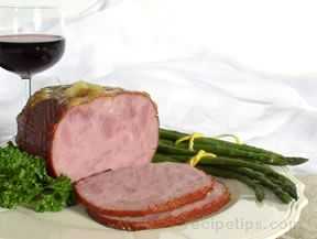 turkey ham with marmalade glaze Recipe