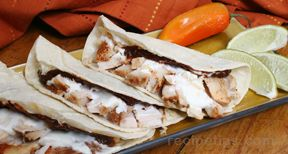 leftover turkey tacos Recipe