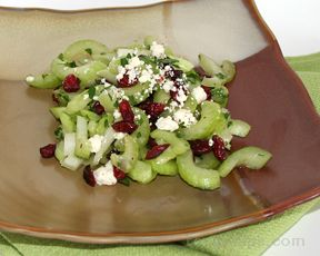 celery cranberry salad Recipe