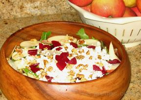 Easy Apple and Beet Salad