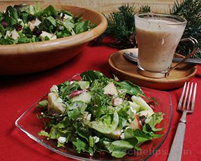 Apple  Chicken Chopped Salad