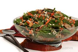 Asian Spinach Salad Recipe
