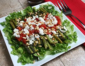 Asparagus and Goat Cheese Salad Recipe