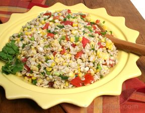 Barley Corn Salad Recipe