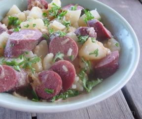 Brats n Beer Potato Salad